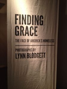 Finding Grace: The Faces of America's Homeless - photographs by Lynn Blodgett - in Salt Lake City Museum