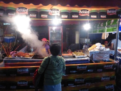 meat vendors night