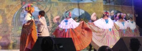 striped dancers