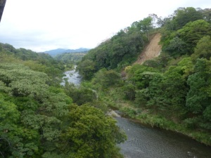 The river that runs through Boquete