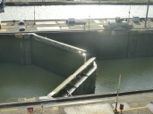 Miraflores Locks - opening