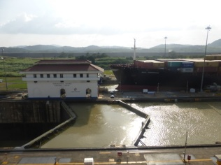 Miraflores Lock - at the Panamá Canal
