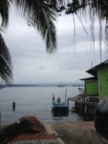 Houses on the water in Bocas