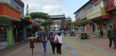 Walking street to Chinatown area
