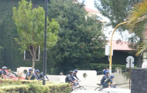 Bikes on a San José street