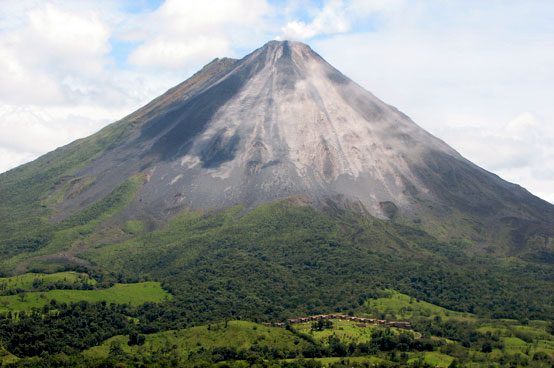 Arenal Volcano National Park - the largest recorded eruption was in 1968