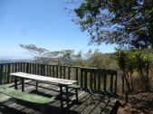Picnic tables, observation decks, and benches are scattered throughout the sanctuary