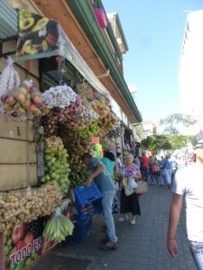 A San José street market