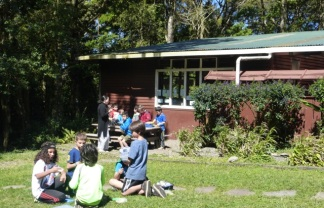 Small groups at the Monteverde Friend's School