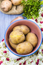 boiled-potatoes-their-skins-raw-parsley-39400568