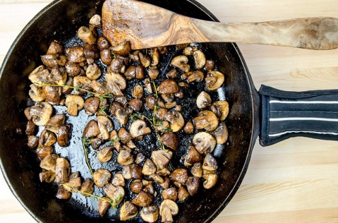 garlic-roasted-sauteed-mushrooms