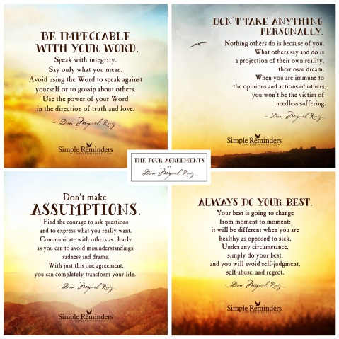 Book The Four Agreements Where In The World Are Barry And Renee