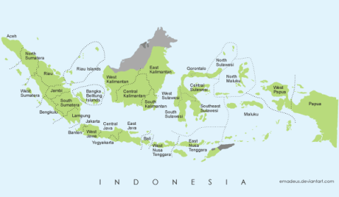 free-vector-map-of-indonesia-30727
