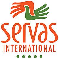 Servas Master Logo-2 color stacked-white oval