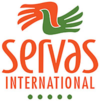 Servas Master Logo-2 color stacked-white oval